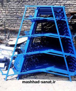 پایه فلزی قفس مرغ منبری